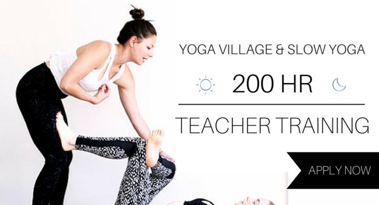 Slow Yoga's 200 HR Yoga Teacher Training