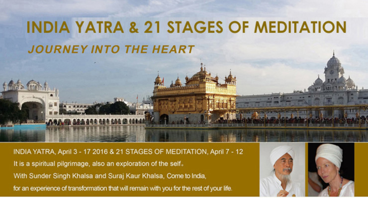 INDIA YATRA & 21 Stages of Meditation