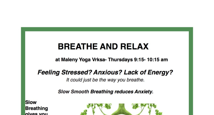 BREATHE & RELAX WITH ONI MCKINSTRY