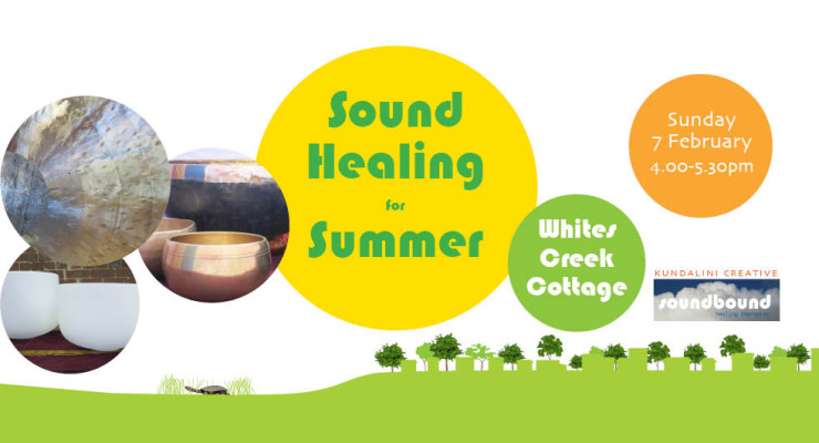 Sound Healing for Summer in Inner West Sydney by soundbound