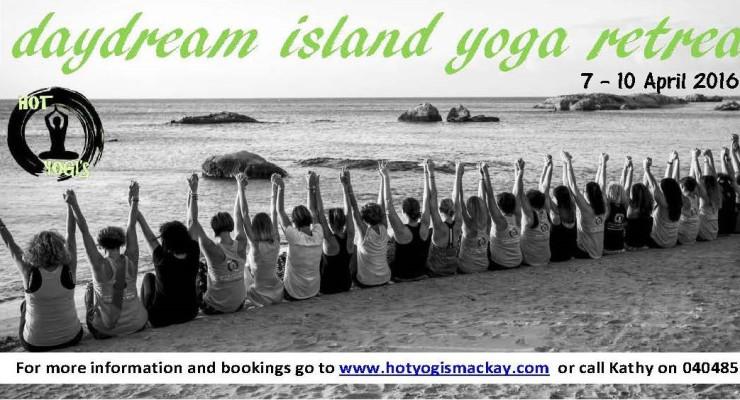 Hot Yogi's Day Dream Island Retrea Brochure
