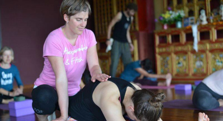The world's only Yoga teacher training in collaboration with a Tibetan Buddhist monastery.
