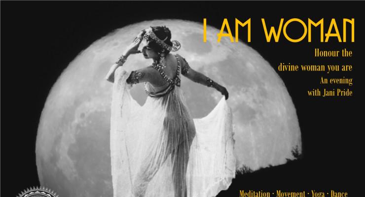 I am Woman - Creative Movement meditation with Jani Pride
