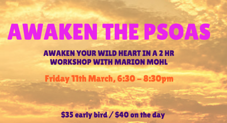 Awaken the Psoas with Marion Mohl