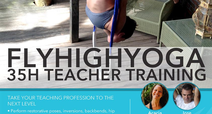 FLY HIGH YOGA Teacher Training 35 Hours