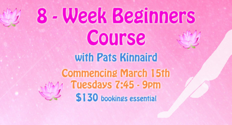 8-Week Beginners Course with Pats Kinnaird