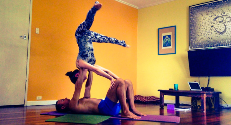 Core, Backbends & AcroYoga Explorations