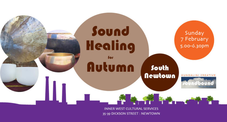 Sound Healing for Autumn at South Newtown by soundbound