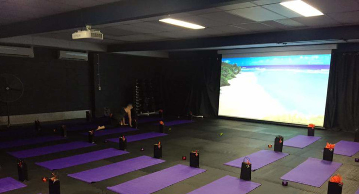 Cinema Yoga Room