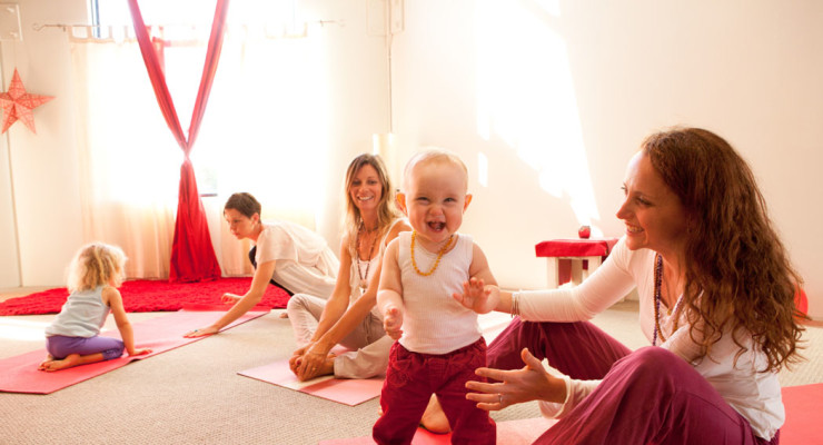 Mums & Bubs Yoga 5 Week Course