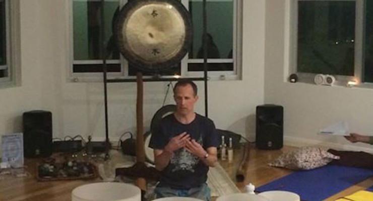 Matt Omo at  Anahata Yoga Space