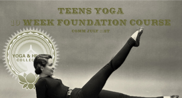 Yoga for teenage girls.