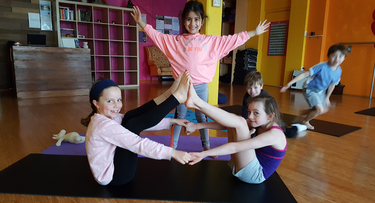 10-Week Kids Yoga Term with Michelle Ser