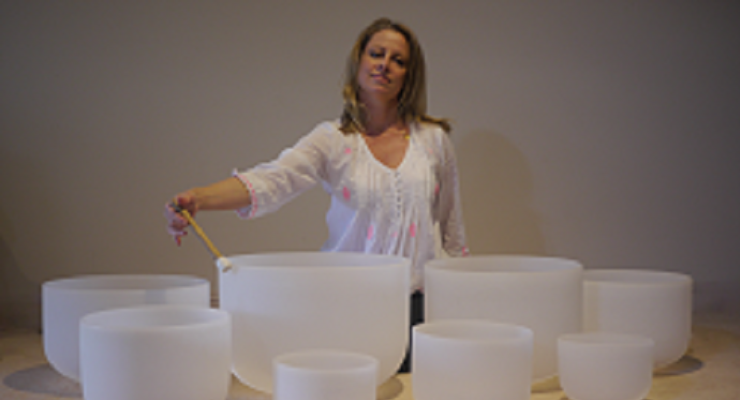 Sound Healing and Meditation with Crystal Singing Bowls