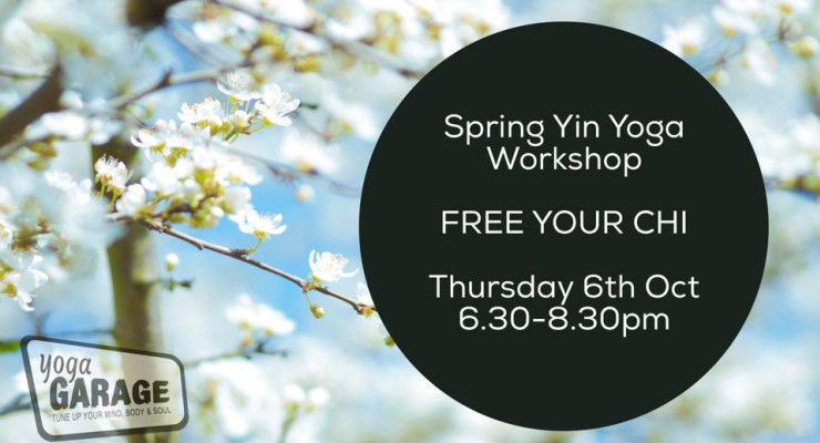 FREE YOUR CHI: Spring Yin Yoga Workshop