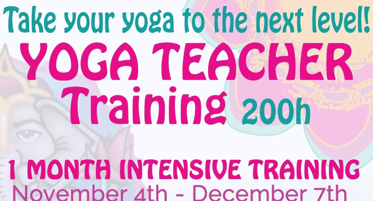 One Month Intensive Yoga Teacher Training