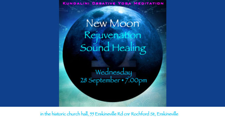 Rejuvenation Sound Healing : New Moon in Libra