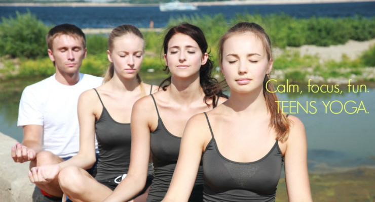 Teens Yoga 10-week Course.