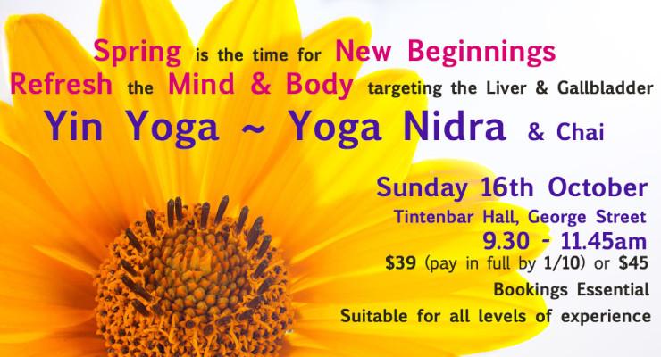 Yin Yoga ~ Yoga Nidra
