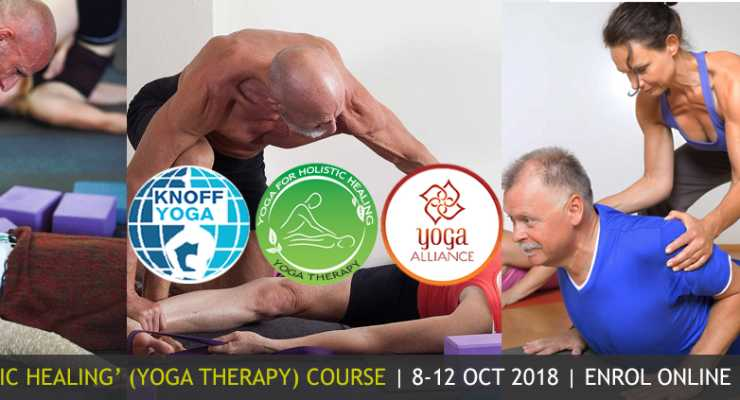 KNOFF 'Yoga for Holistic Healing A' (YOGA THERAPY) Course October 2018