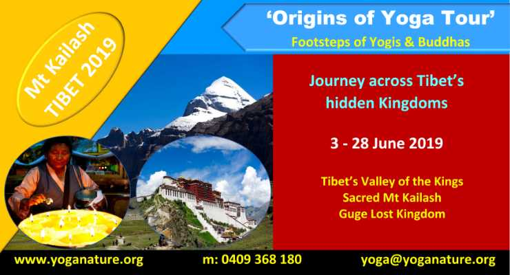 Mt Kailash TIBET 2019 'Origins of Yoga Tour'