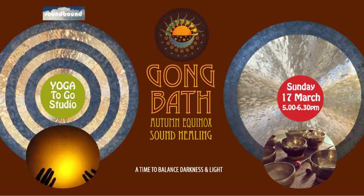 AUTUMN EQUINOX SOUND HEALING GONG BATH RELAXATION