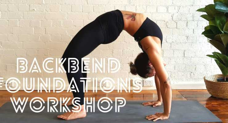 Yoga Backbend Foundations Workshop