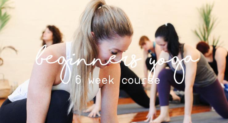 6 Week Beginners Yoga Course