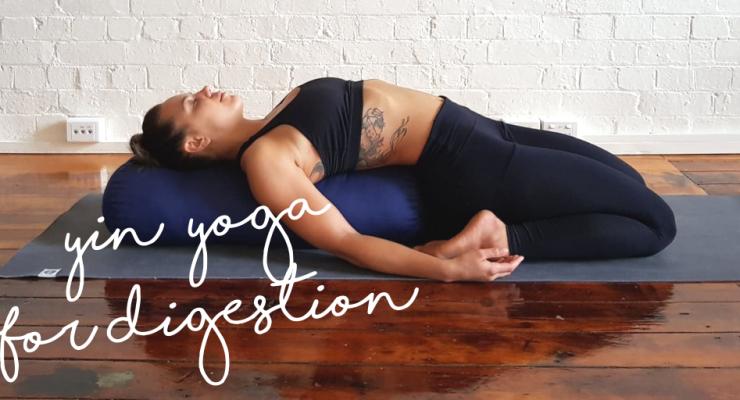 Stretch Yoga Yin Yoga for Digestion