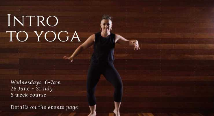Introduction to Yoga: 6 week course