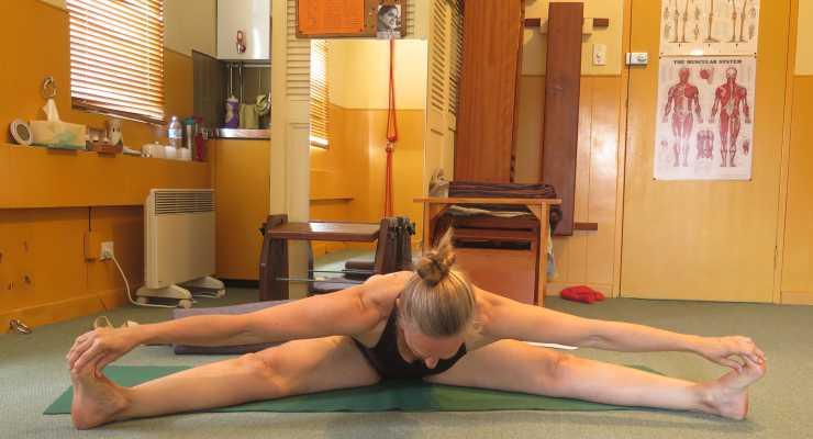 Linda Apps is a JI3 qualified Iyengar Yoga teacher
