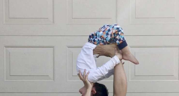 Parent & Toddler acroyoga