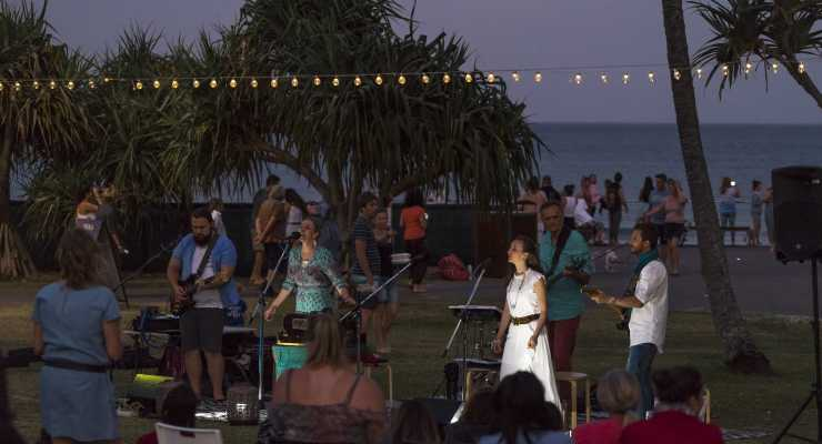 Full Moon Beach Kirtan