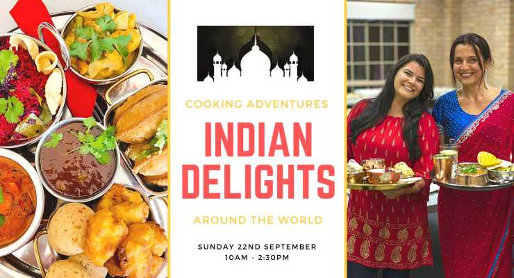 Cooking Adventures Around The World: Indian Delights