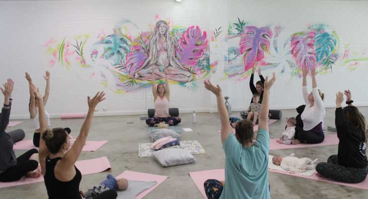 Mums and Bubs Yoga Course