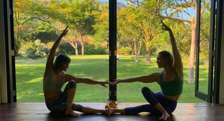 Balanced Practice Family Fiji Yoga Retreat with Liz Bennett and Amelia Disspain