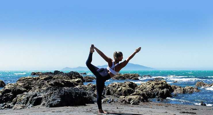 Pacific Yoga flow in Fiji with Deidre-Lee Allen