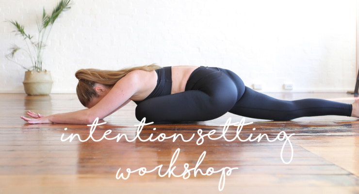 Welcome to 2020: Yin Yoga & Intention Setting Workshop