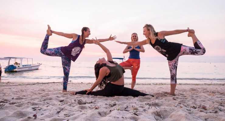 RYT-200 Level 1  Santosha Yoga Teacher Training Nusa Lembongan