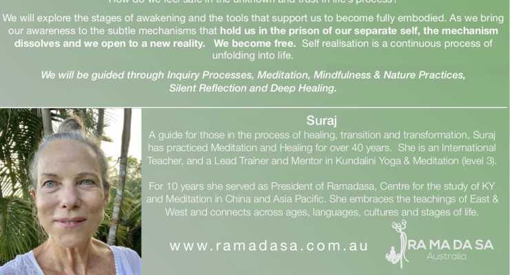 A 5 Day Meditative Retreat with Suraj