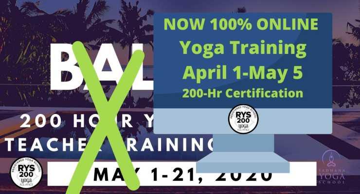 ONLINE 200-Hour Yoga Teacher Training