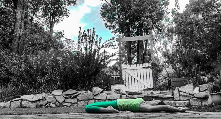 Supta virasana - Restorative Yoga - Fremantle