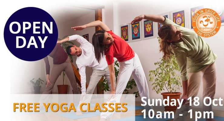 OPEN DAY - Free Yoga Classes
