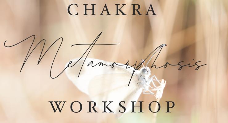 Chakra Metamorphosis Online Workshop