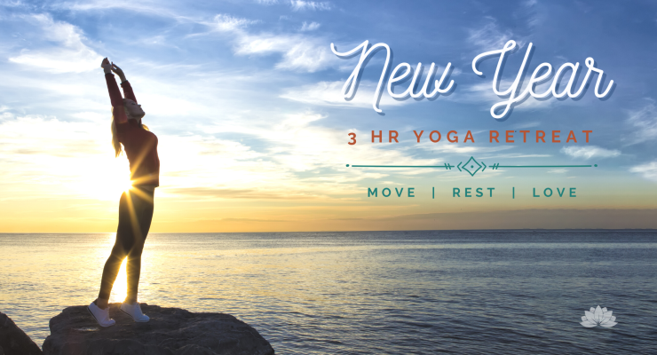 New Year's Yoga 3hr Retreat: Move, Rest, Love