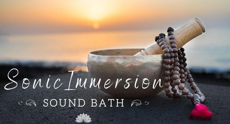 Sonic Immersion: 2hr Sound Bath
