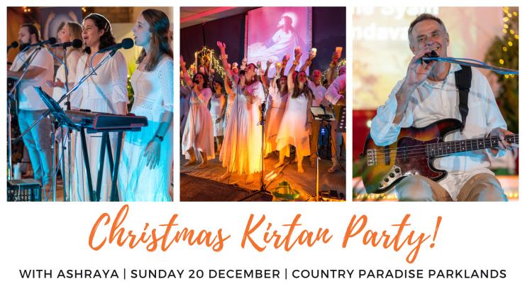 Christmas Kirtan Party with Ashraya