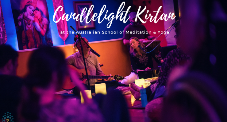 Candlelight Kirtan at ASMY
