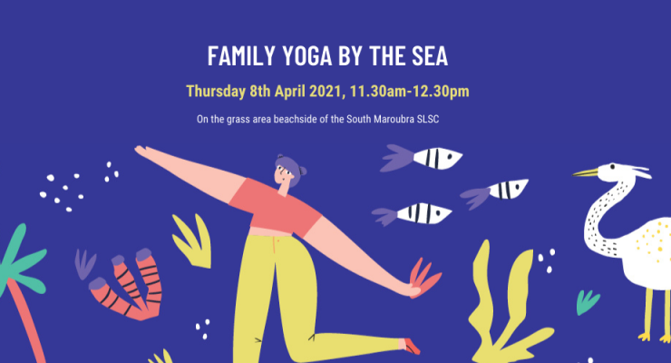 Yoga By The Sea for Families in Maroubra