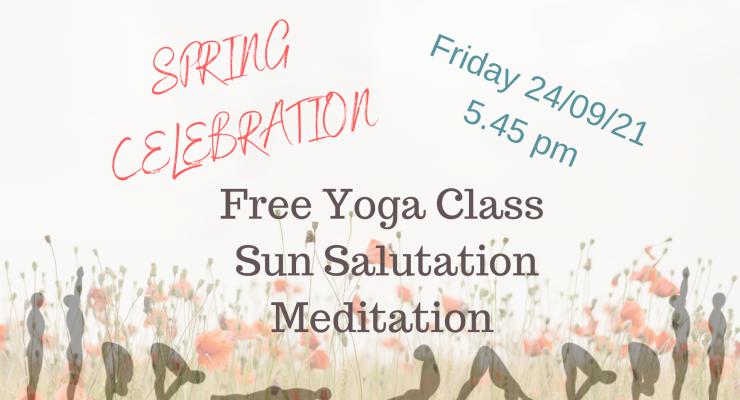 Spring celebration The Pure Yoga